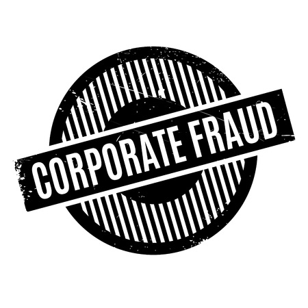 insider trading: Corporate Fraud rubber stamp. Grunge design with dust scratches. Effects can be easily removed for a clean, crisp look. Color is easily changed.