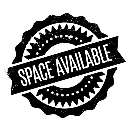 Space Available stamp. Grunge design with dust scratches. Effects can be easily removed for a clean, crisp look. Color is easily changed. Ilustrace