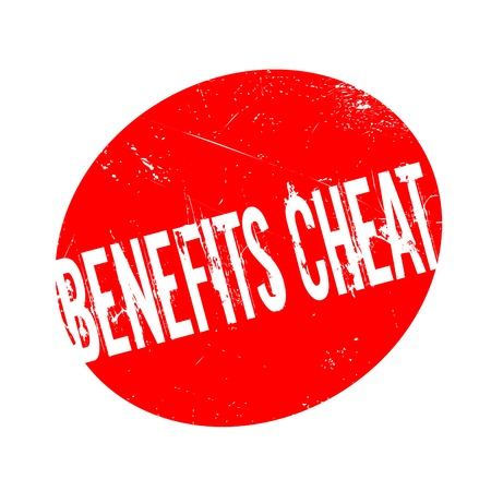 Benefits Cheat rubber stamp. Grunge design with dust scratches. Effects can be easily removed for a clean, crisp look. Color is easily changed. Illustration