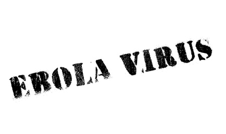 infectious disease: Ebola Virus stamp. Grunge design with dust scratches. Effects can be easily removed for a clean, crisp look. Color is easily changed. Illustration