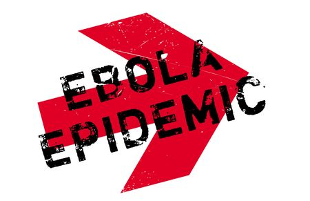 hemorrhagic: Ebola Epidemic stamp. Grunge design with dust scratches. Effects can be easily removed for a clean, crisp look. Color is easily changed.