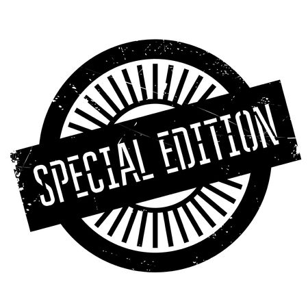 special edition: Special edition stamp. Grunge design with dust scratches. Effects can be easily removed for a clean, crisp look. Color is easily changed.