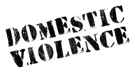 Häusliche Gewalt Stempel. Grunge-Design mit Staub Kratzer. Die Effekte können leicht für einen sauberen, frischen Look entfernt werden. Die Farbe ist leicht verändert.