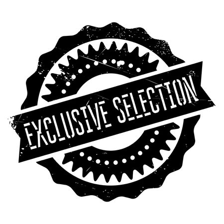segregated: Exclusive selection stamp. Grunge design with dust scratches. Effects can be easily removed for a clean, crisp look. Color is easily changed. Illustration