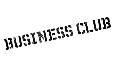 a cudgel: Business Club rubber stamp. Grunge design with dust scratches. Effects can be easily removed for a clean, crisp look. Color is easily changed.