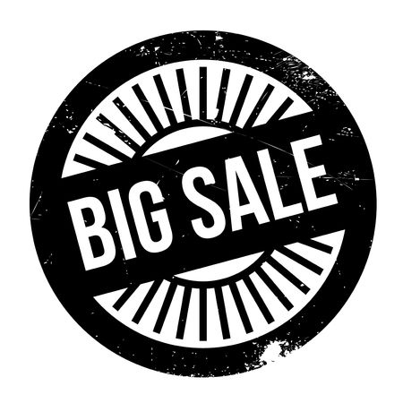dumping: Big sale stamp. Grunge design with dust scratches. Effects can be easily removed for a clean, crisp look. Color is easily changed.