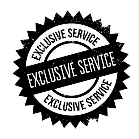 Exclusive service stamp. Grunge design with dust scratches. Effects can be easily removed for a clean, crisp look. Color is easily changed. Vektoros illusztráció