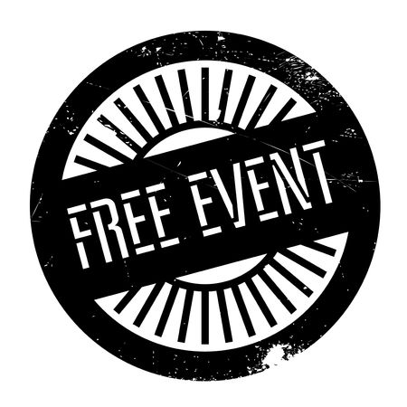 outgrowth: Free event stamp. Grunge design with dust scratches. Effects can be easily removed for a clean, crisp look. Color is easily changed.