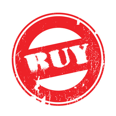 presently: Buy rubber stamp. Grunge design with dust scratches. Effects can be easily removed for a clean, crisp look. Color is easily changed. Illustration