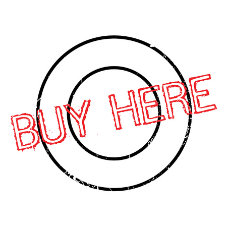 investor: Buy Here rubber stamp. Grunge design with dust scratches. Effects can be easily removed for a clean, crisp look. Color is easily changed.