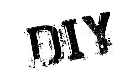 Sello de goma de DIY. Diseño de grunge con rasguños de polvo. Los efectos se pueden quitar fácilmente para un aspecto limpio y nítido. El color se cambia fácilmente.