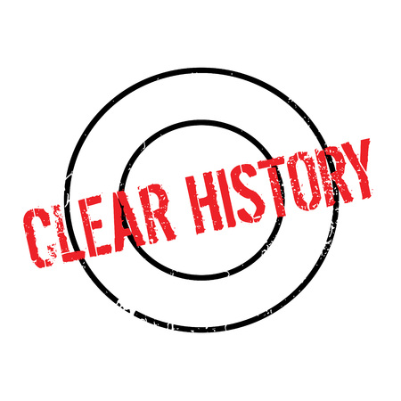 old times: Clear History rubber stamp. Grunge design with dust scratches. Effects can be easily removed for a clean, crisp look. Color is easily changed.