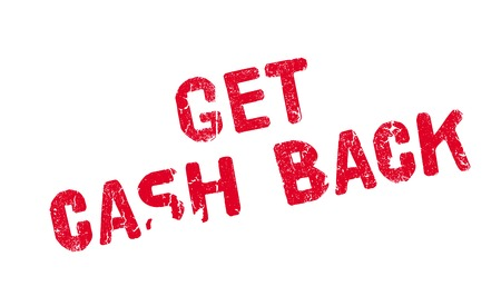 obtain: Get Cash Back rubber stamp. Grunge design with dust scratches. Effects can be easily removed for a clean, crisp look. Color is easily changed.