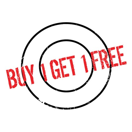 Buy 1 Get 1 Free rubber stamp. Grunge design with dust scratches. Effects can be easily removed for a clean, crisp look. Color is easily changed.