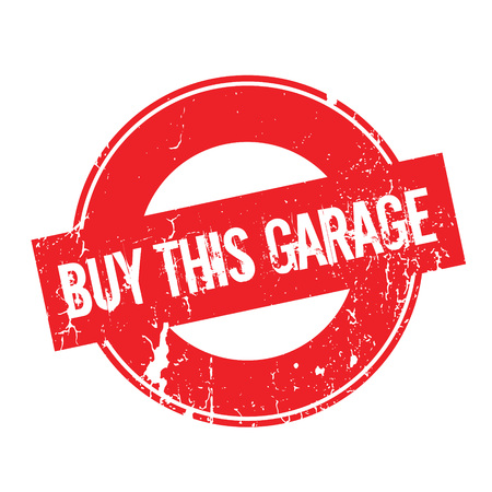 Buy This Garage rubber stamp. Grunge design with dust scratches. Effects can be easily removed for a clean, crisp look. Color is easily changed. Illustration