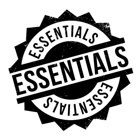 requisite: Essentials rubber stamp. Grunge design with dust scratches. Effects can be easily removed for a clean, crisp look. Color is easily changed.