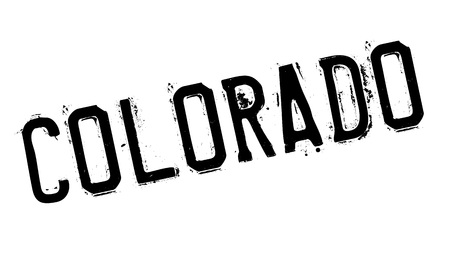 Colorado rubber stamp. Grunge design with dust scratches. Effects can be easily removed for a clean, crisp look. Color is easily changed. Illustration