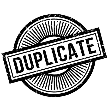 doublet: Duplicate rubber stamp. Grunge design with dust scratches. Effects can be easily removed for a clean, crisp look. Color is easily changed.