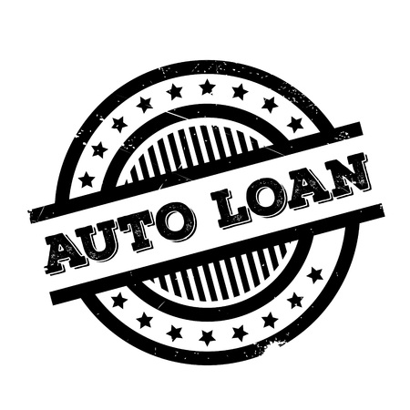 Auto Loan rubber stamp. Grunge design with dust scratches. Effects can be easily removed for a clean, crisp look. Color is easily changed. Illustration