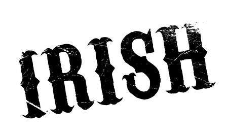 eire: Irish rubber stamp. Grunge design with dust scratches. Effects can be easily removed for a clean, crisp look. Color is easily changed.