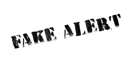 cagey: Fake Alert rubber stamp. Grunge design with dust scratches. Effects can be easily removed for a clean, crisp look. Color is easily changed. Illustration
