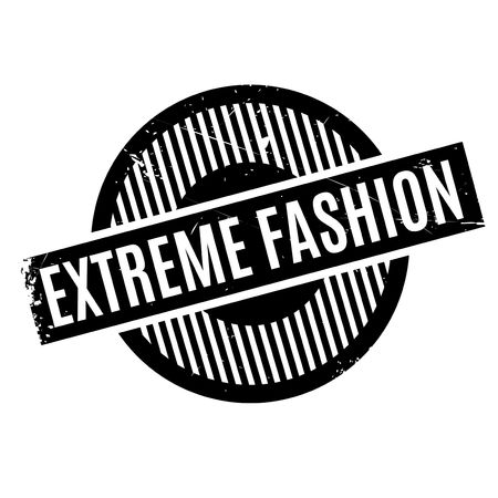furthest: Extreme Fashion rubber stamp. Grunge design with dust scratches. Effects can be easily removed for a clean, crisp look. Color is easily changed.