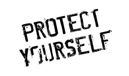 Proteggi il tuo timbro di gomma. Design grunge con graffi di polvere. Gli effetti possono essere facilmente rimossi per un look pulito e nitido. Il colore è facilmente modificabile