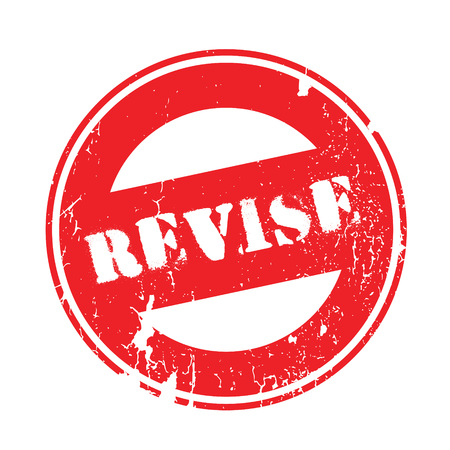 Revise rubber stamp. Grunge design with dust scratches. Effects can be easily removed for a clean, crisp look. Color is easily changed. Illustration