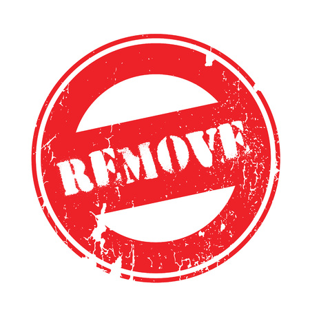 Remove rubber stamp. Grunge design with dust scratches. Effects can be easily removed for a clean, crisp look. Color is easily changed.