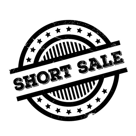 sharply: Short Sale rubber stamp. Grunge design with dust scratches. Effects can be easily removed for a clean, crisp look. Color is easily changed.