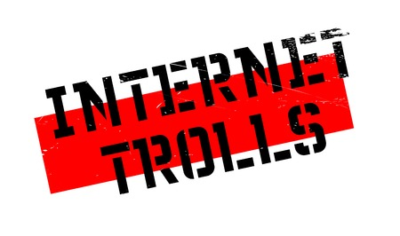 harass: Internet Trolls rubber stamp. Grunge design with dust scratches. Effects can be easily removed for a clean, crisp look. Color is easily changed. Illustration