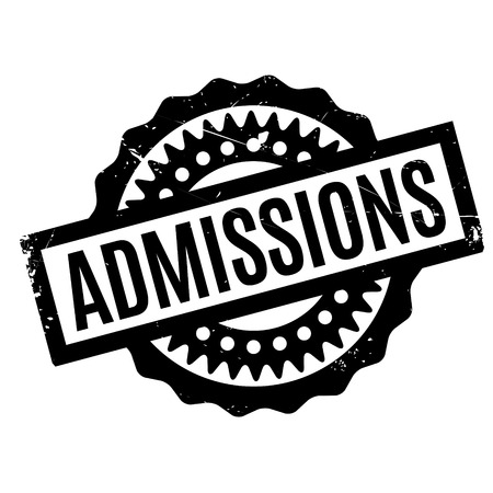 admit: Admissions rubber stamp. Grunge design with dust scratches. Effects can be easily removed for a clean, crisp look. Color is easily changed.