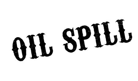 spillage: Oil Spill rubber stamp. Grunge design with dust scratches. Effects can be easily removed for a clean, crisp look. Color is easily changed.
