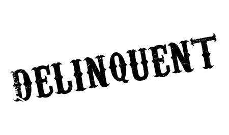 lax: Delinquent rubber stamp. Grunge design with dust scratches. Effects can be easily removed for a clean, crisp look. Color is easily changed.