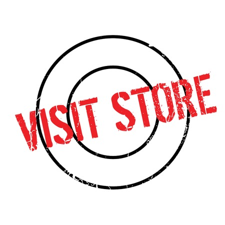 provision: Visit Store rubber stamp. Grunge design with dust scratches. Effects can be easily removed for a clean, crisp look. Color is easily changed.