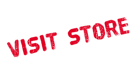stockpile: Visit Store rubber stamp. Grunge design with dust scratches. Effects can be easily removed for a clean, crisp look. Color is easily changed.