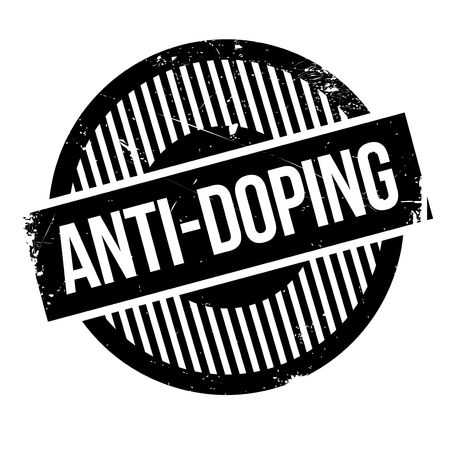 banish: Anti-Doping rubber stamp. Grunge design with dust scratches. Effects can be easily removed for a clean, crisp look. Color is easily changed. Illustration