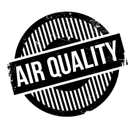 harmful to the environment: Air Quality rubber stamp. Grunge design with dust scratches. Effects can be easily removed for a clean, crisp look. Color is easily changed.