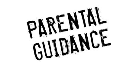alkalmasság: Szülői felügyelet gumi bélyegző. Grunge design por karcolásoktól. Hatások könnyen eltávolítható a tiszta, éles pillantást. Színes könnyen módosítható. Stock fotó