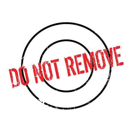 turn away: Do Not Remove rubber stamp. Grunge design with dust scratches. Effects can be easily removed for a clean, crisp look. Color is easily changed.