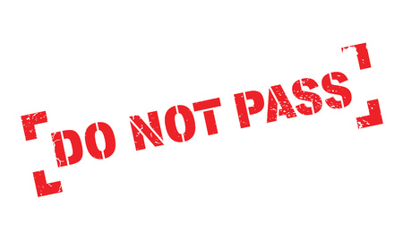no pase: Do Not Pass rubber stamp. Grunge design with dust scratches. Effects can be easily removed for a clean, crisp look. Color is easily changed.