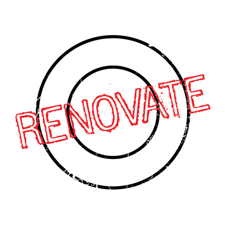 expiration date: Renovate rubber stamp. Grunge design with dust scratches. Effects can be easily removed for a clean, crisp look. Color is easily changed.