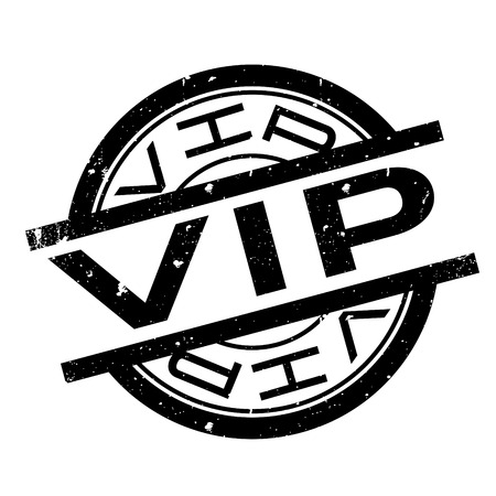 Vip rubber stamp. Grunge design with dust scratches. Effects can be easily removed for a clean, crisp look. Color is easily changed.