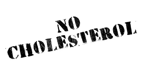 No Cholesterol rubber stamp. Grunge design with dust scratches. Effects can be easily removed for a clean, crisp look. Color is easily changed.