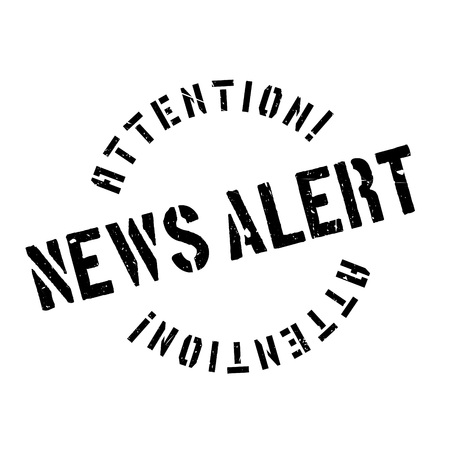 be alert: News Alert rubber stamp. Grunge design with dust scratches. Effects can be easily removed for a clean, crisp look. Color is easily changed.