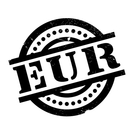 marked boxes: Eur rubber stamp. Grunge design with dust scratches. Effects can be easily removed for a clean, crisp look. Color is easily changed. Illustration