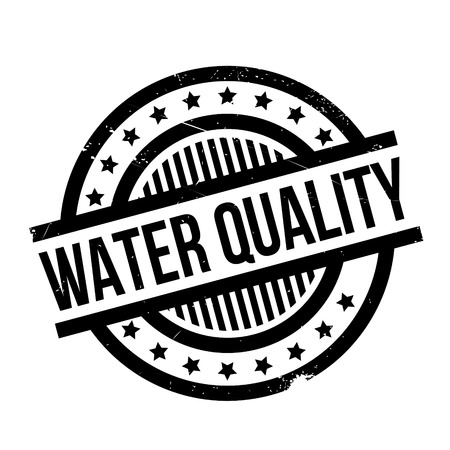 water polo: Water Quality rubber stamp. Grunge design with dust scratches. Effects can be easily removed for a clean, crisp look. Color is easily changed. Illustration