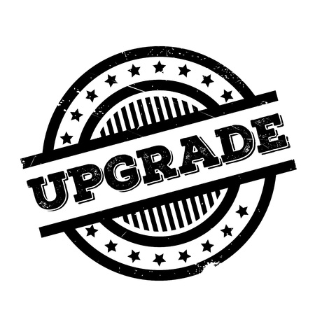 updated: Upgrade rubber stamp. Grunge design with dust scratches. Effects can be easily removed for a clean, crisp look. Color is easily changed.