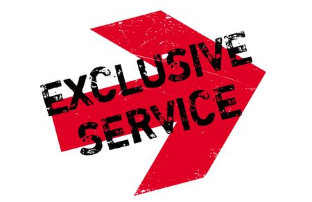 Exclusive service stamp. Grunge design with dust scratches. Effects can be easily removed for a clean, crisp look. Color is easily changed.