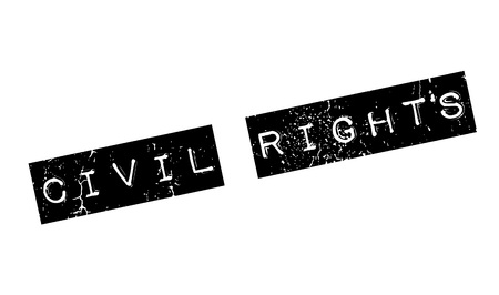 sexual orientation: Civil Rights rubber stamp. Grunge design with dust scratches. Effects can be easily removed for a clean, crisp look. Color is easily changed. Illustration